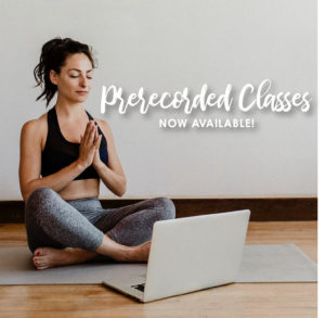 Prerecorded Classes Now Available