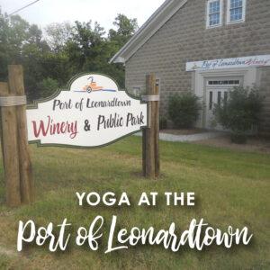 Yoga @ Port of Leonardtown